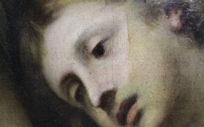 Maddalena penitente con tre Angeli (1670)