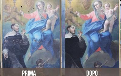 Madonna con Bambino e San Domenico di Guzman