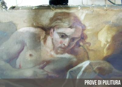 Pala d'altare Zalbio carloni2 prove di pulitura-960x660