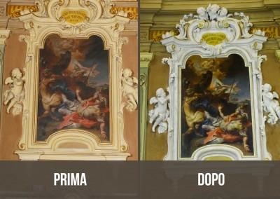 Pala d'altare Zalbio carloni4 prima e dopo-960x660
