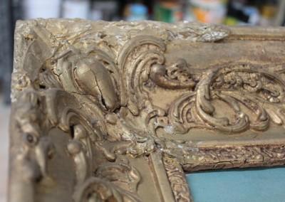 Sacrestia di Zelbio prima-del-restauro-cornice