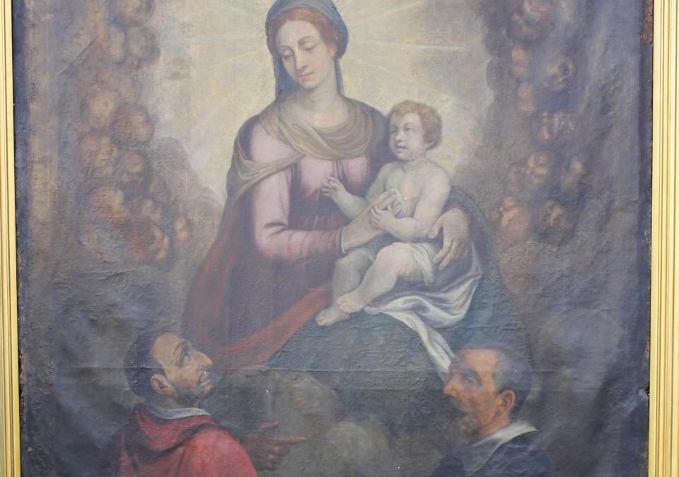 """""""Madonna con Bambino e Santi"""" – Lemna"""